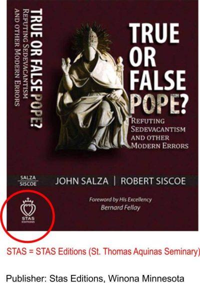 Vrai ou faux Pape ? STAS Éditions