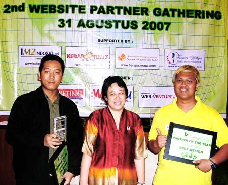 Tokohelm.Com Best Design Partner of The Year 2007 V2 Virtual Vending