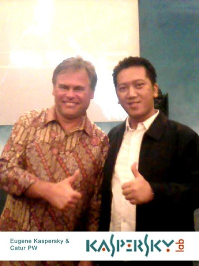 catur pw and eugene kaspersky