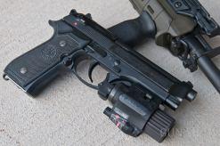 Insight M6X on Beretta 92FS