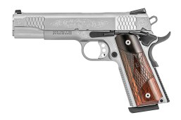 Smith & Wesson SW1911 .45 ACP Machine Engraved