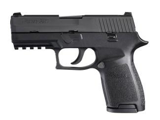 SIG P250 pistol, left profile