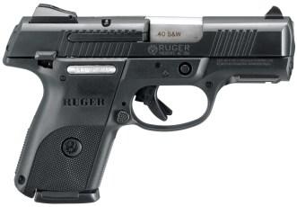 Ruger SR series pistol right profile