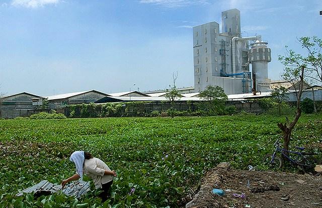 Ekspansi industri yang diperkirakan akan menghasilkan pertumbuhan ekonomi sebesar 7 persen pada tahun 2014. Dokumentasi photo oleh Henri Ismail