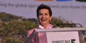 Christiana Figueres, Sekretaris Eksekutif UNFCCC. Foto milik Neil Palmer/CIAT.
