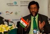 El Presidente del IPCC habla durante una sesión en la Cumbre Bosques de Asia el martes 6 de mayo de  2014.