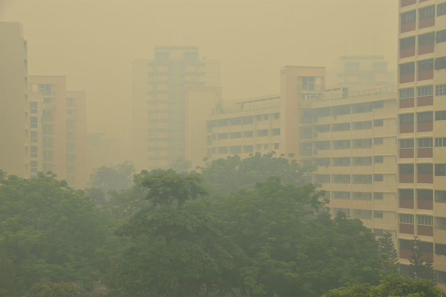 Haze returns to Singapore – and we can expect more of it, new study warns