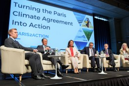 La rápida ratificación del Acuerdo de París marca un nuevo récord en las negociaciones mundiales sobre el clima.