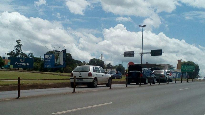Foto: Antiga interseção entre Rodovia Br 277 e Av. Costa e Silva.