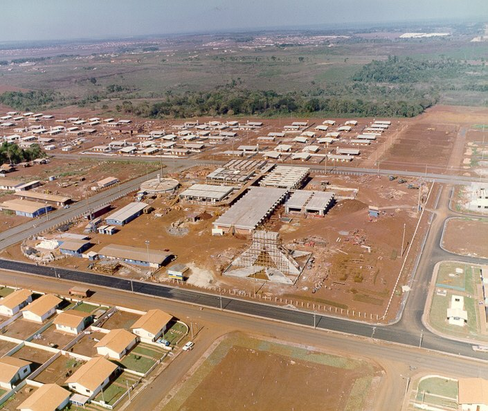 Vila A e Hospital da Itaipu