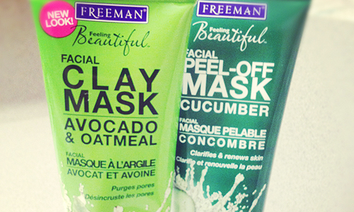 Freeman Feeling Beautiful Peel-Off and Clay Facial Masks