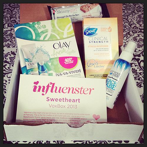Influenster SweetHeart VoxBox