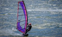 Wind Surfing on the Columbia River