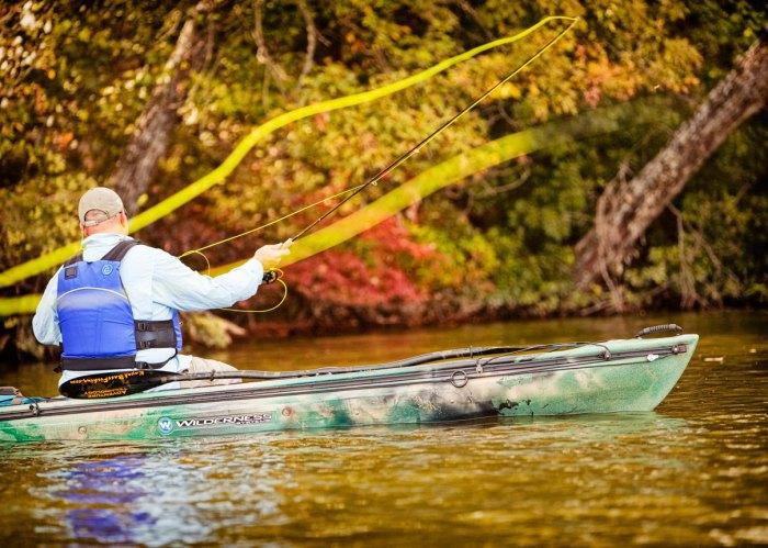 chad hoover kayak fishing