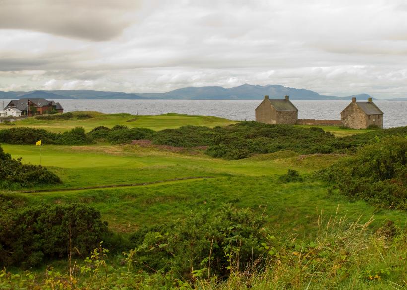 Scottish links Prestwick St Nicholas in Scotland