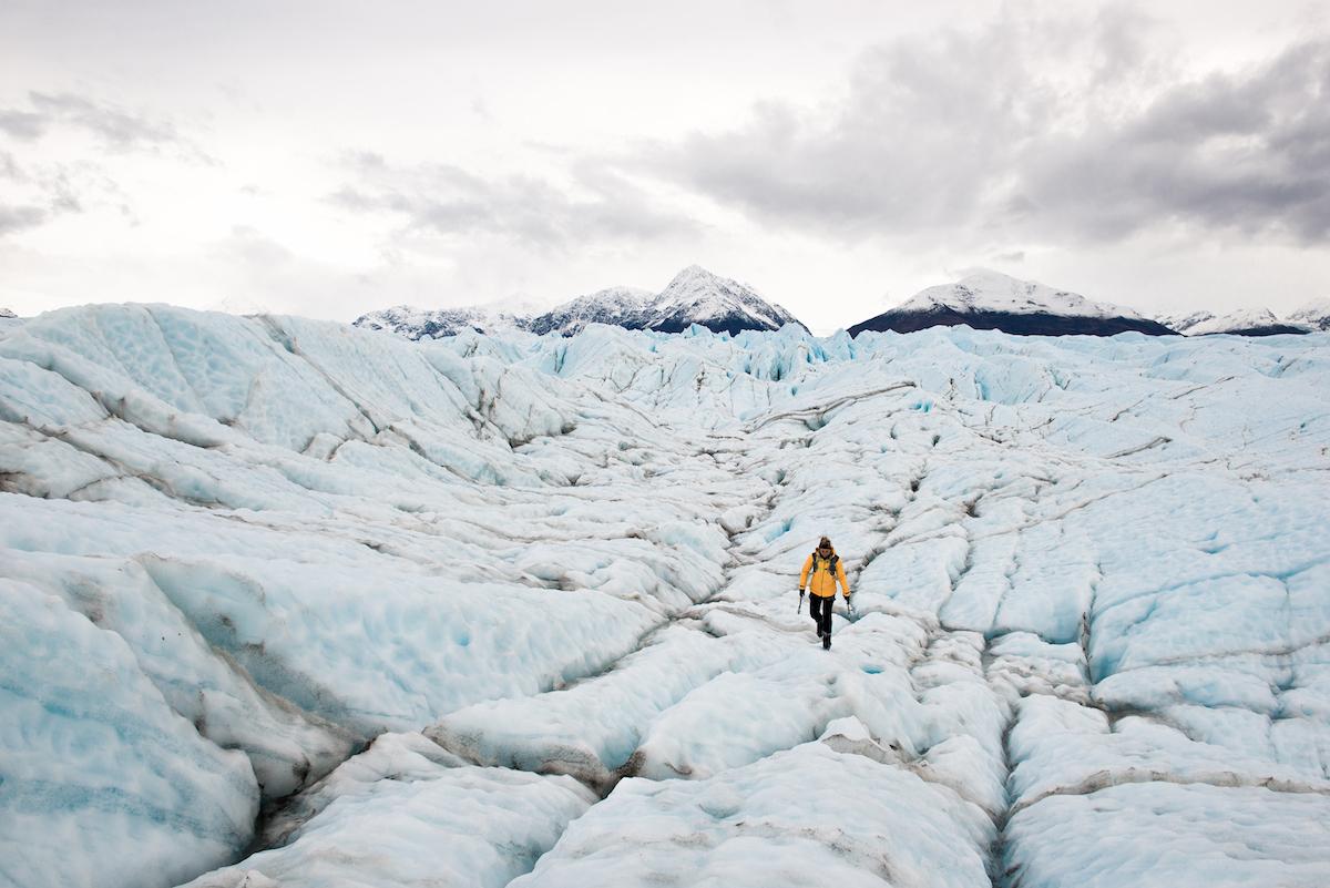 Photo: @zachdoleac Knik Glacier, Alaska
