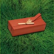 papier cadeau brique