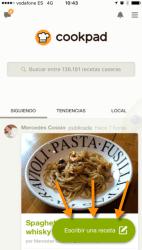 Publicar receta en Cookpad