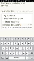 Publicar recetas en Cookpad