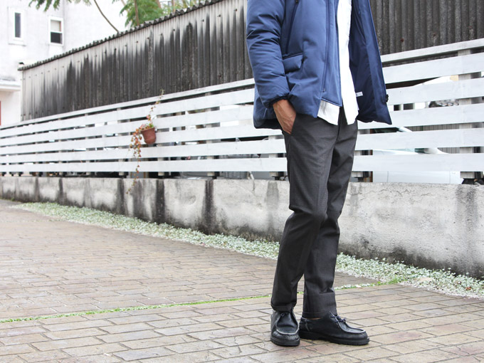 ONES STROKE (ワンズストローク) Herringbone Cropped Pants