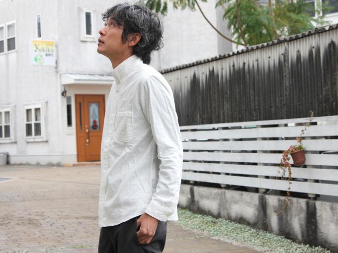 nisica(ニシカ) ネルボタンダウンシャツ