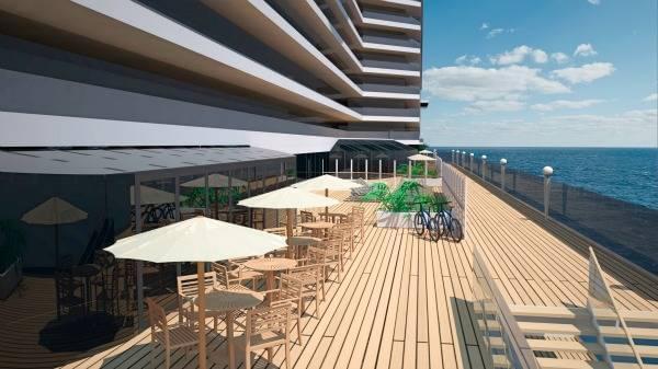 MSC Seaside Promenade