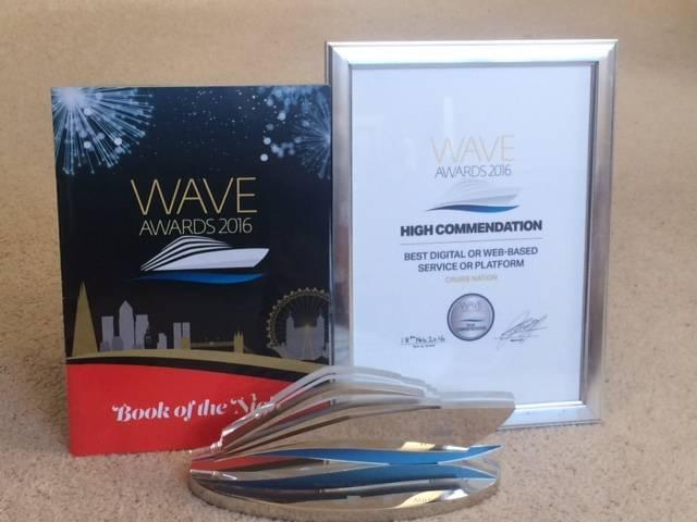 Cruise Nation Wave Awards 2016