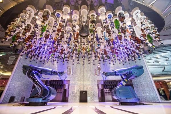 Royal Caribbean Bionic Bartenders