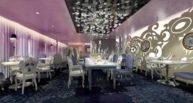 Wonderland restaurant onboard Anthem of the Seas