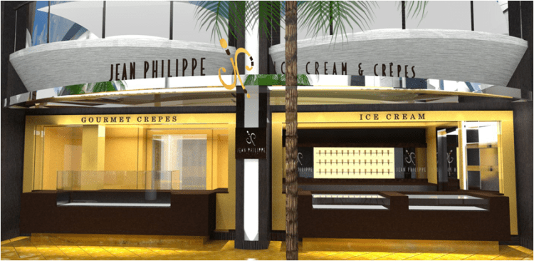 Ice Cream Bar and Crêperie on the Promenade