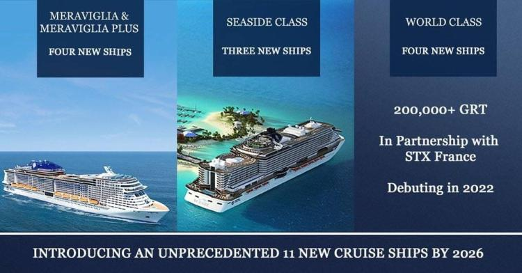 MSC new cruise ships