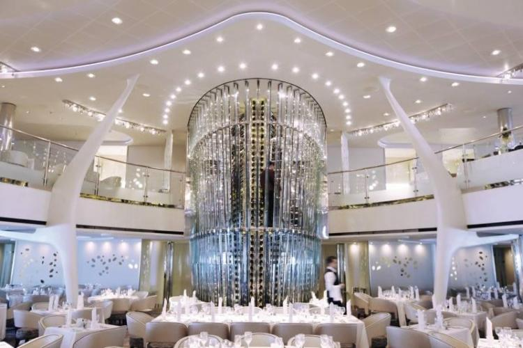 Celebrity Silhouette Wine Tower