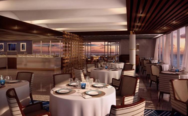 Sette Mari Italian Restaurant on Regent Seven Seas Explorer