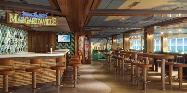 Jimmy Buffett's Margaritaville on Norwegian Bliss