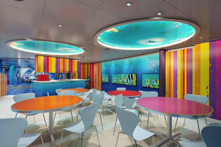 Creative Cove on Carnival Horizon