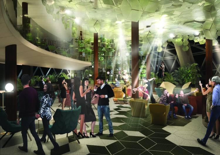 Eden venue on Celebrity Edge cruise ship