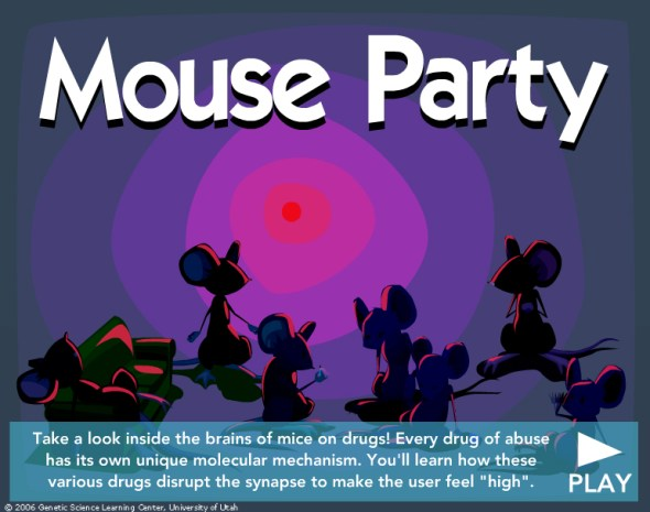 Mouse Party animation