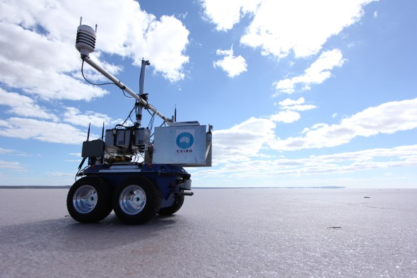 Our 'Outback Rover' is helping scientists improve the accuracy of satellites.