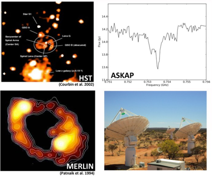 The first images from ASKAP reveal slices through space