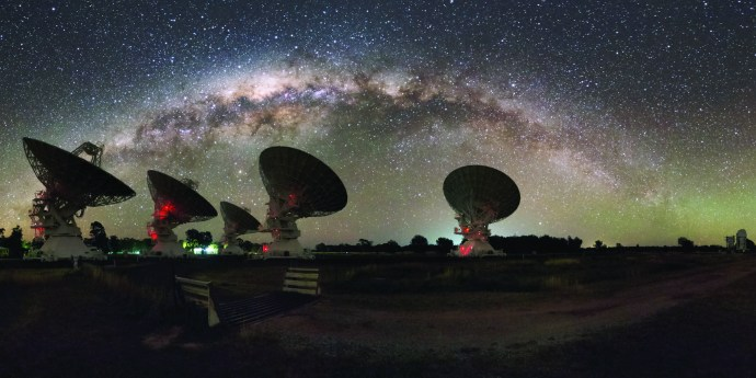 Mysterious blobs in our Milky Way could be part of the missing matter
