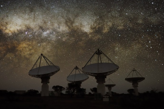 Very high beam: ASKAP telescope creates world-first image of the cosmos