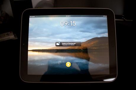 Dalle IPS de la TouchPad