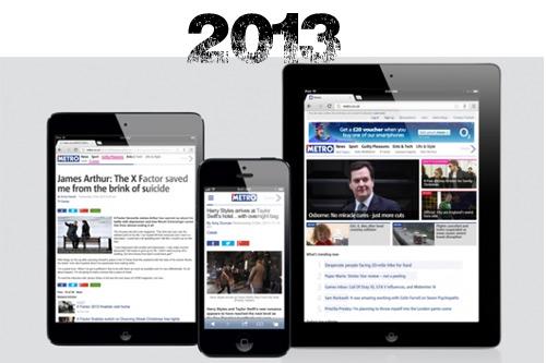 Metro.co.uk in 2013 on the WordPress VIP platform