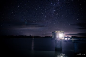 My first attempt out at Blue Rock Dam. Two minute exposure with some Lightroom adjustment