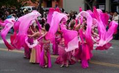 Magenta Dancers, Fremont Solstice Parade
