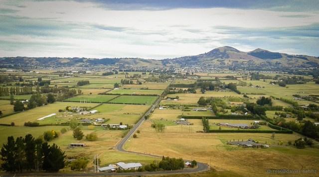Saddle Hill across the Taieri Plains