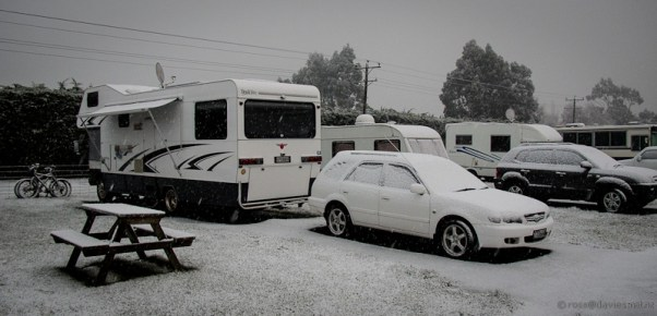 Snow at Mosgiel