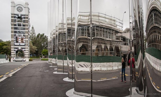 Exterior, Len Lye Centre New Plymouth
