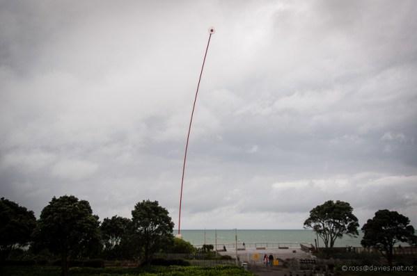 New Plymouth Wind Wand by Len Lye
