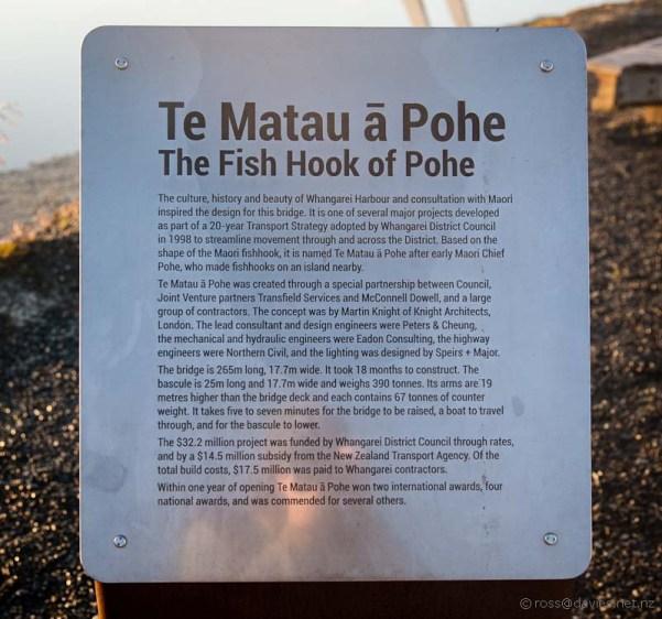 Whangarei bascule bridge information